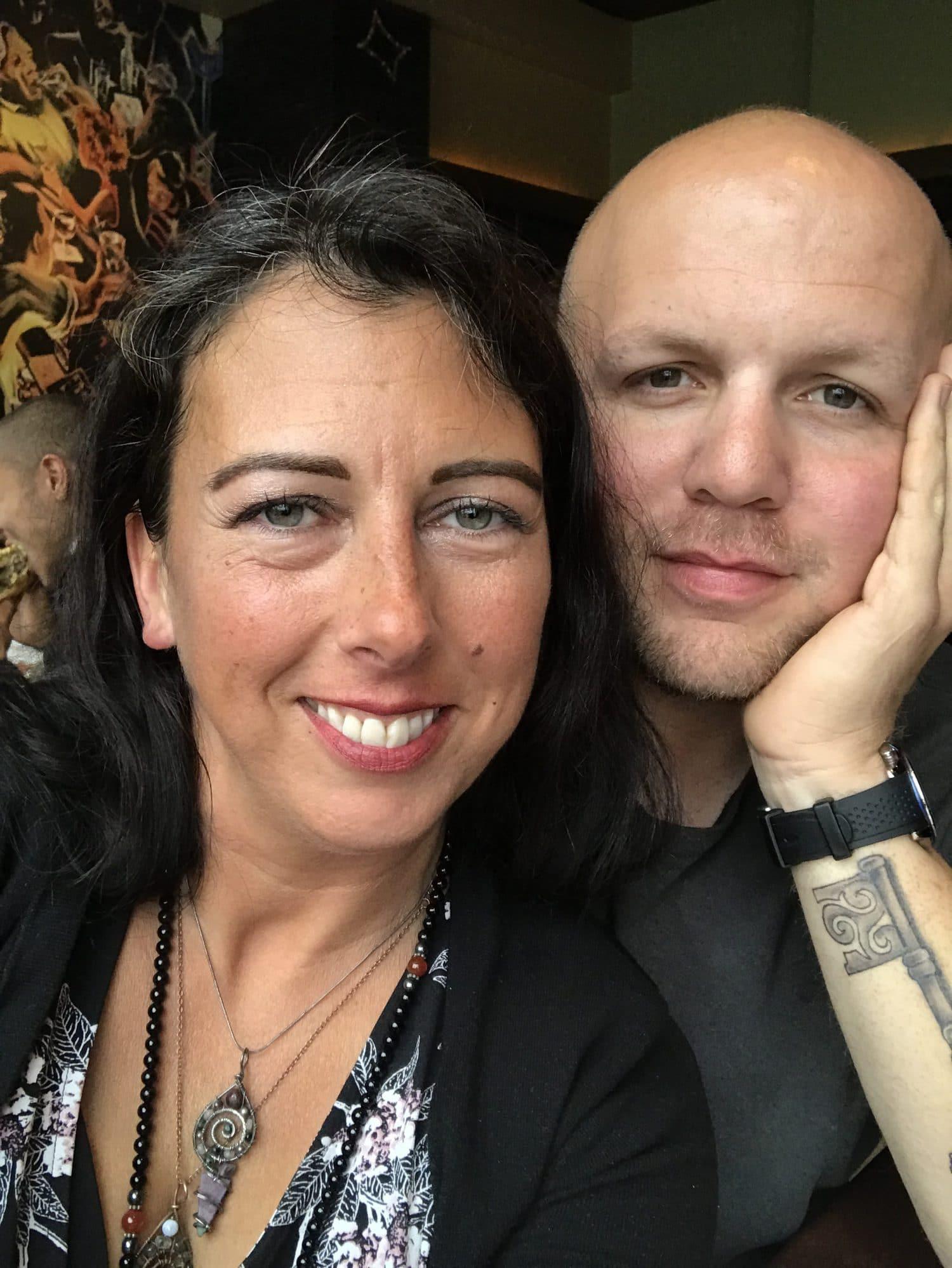 Lisa and Brian