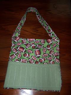 handmade crayon coloring book bag