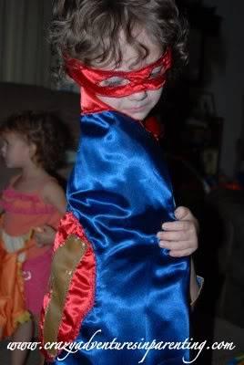 super hero cape set