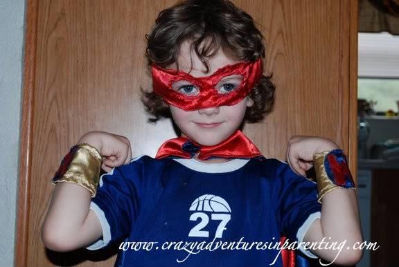 super hero muscles