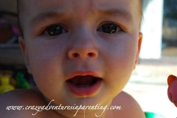 infant close up