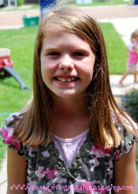 9-year-old hair cut