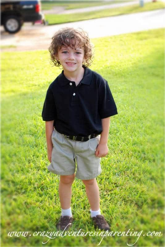 Big Kindergarten Boy