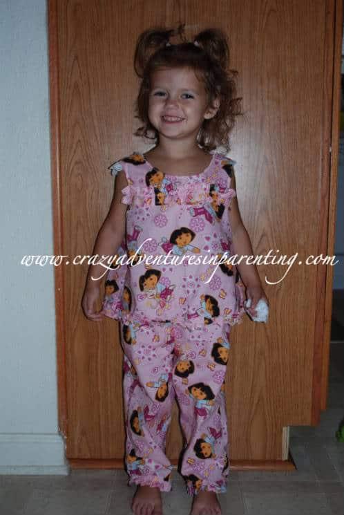 handmade Dora outfit