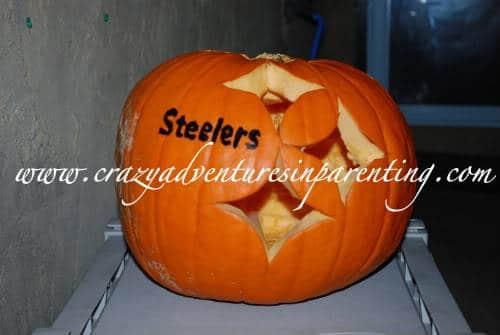 Steelers pumpkin
