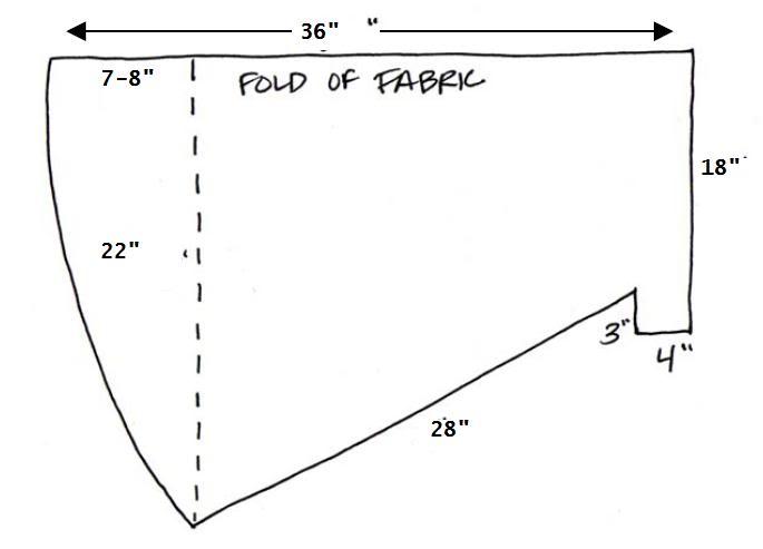 measurements for super hero cape