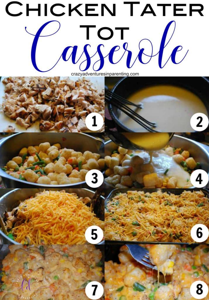 Chicken Tater Tot Casserole Recipe
