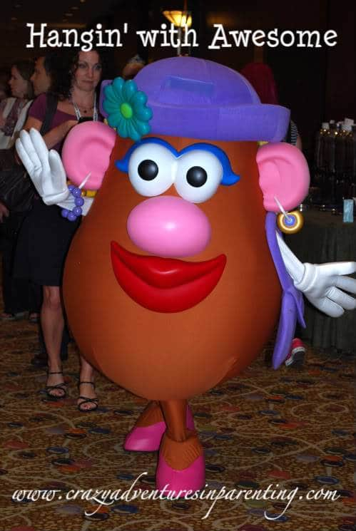 Mrs Potato Head!