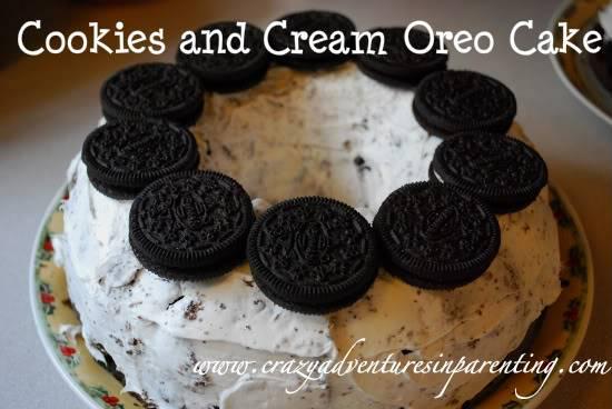 Oreo Cookies 'n Cream Cake