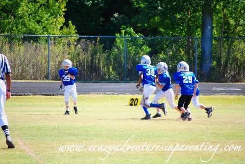 tackle football