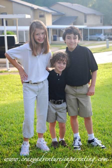 My three elementary school kids