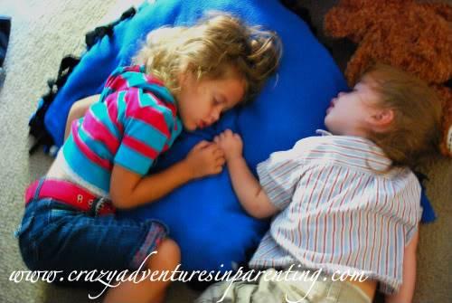 kids napping