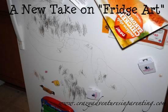 Kids Crayon Mess