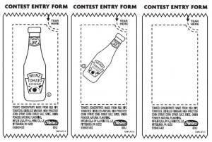 Heinz Ketchup Creativity Contest Kit