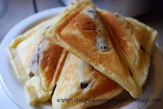 Sausage Pancake Sandwiches