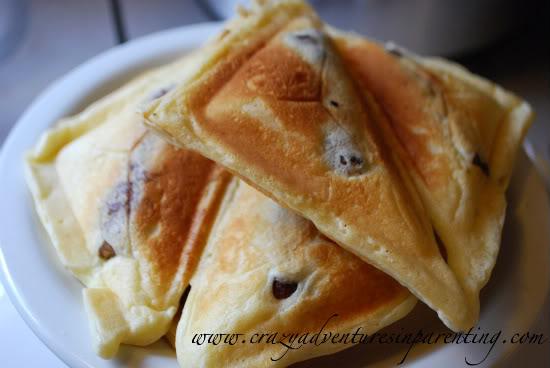 sausage pancake pocket sandwiches