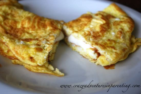 cream cheese omelet