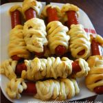 mummified hot dogs
