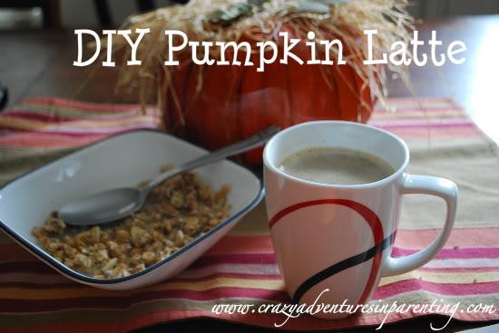 sugar free pumpkin latte