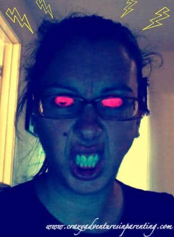 Angry Mom Eyes