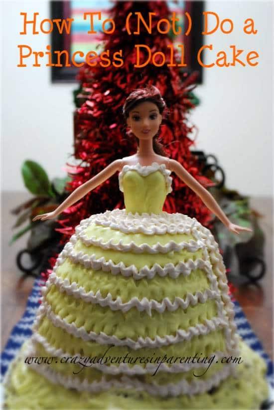 princess doll cake caketastrophe