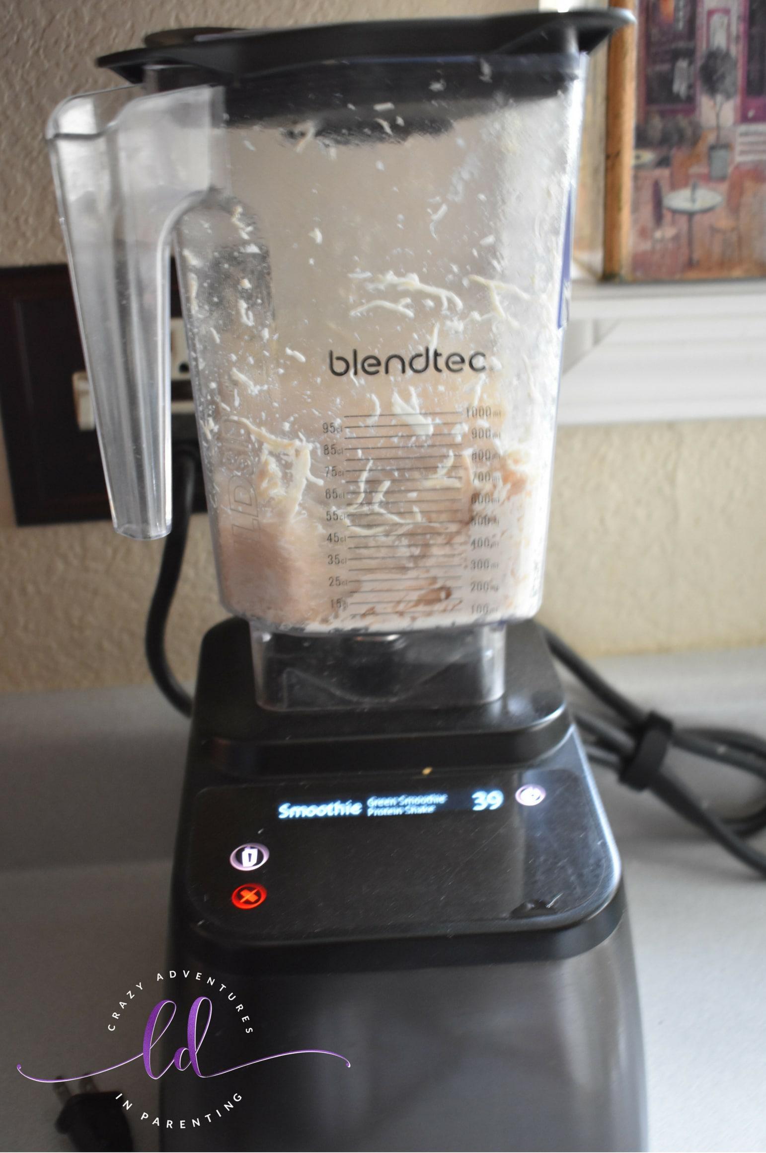 Chicken Bacon Ranch Quesadilla Recipe Shedded Chicken in the Blender