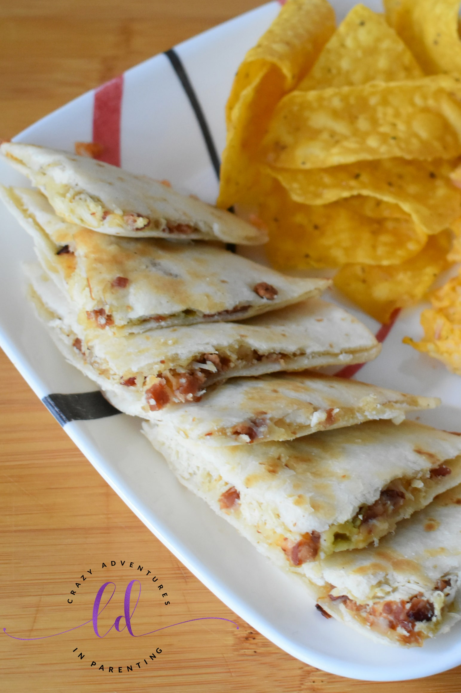 How to Make Chicken Bacon Ranch Quesadillas