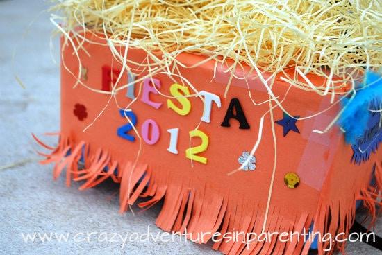 Decorating A San Antonio Fiesta Shoebox Parade Float Crazy