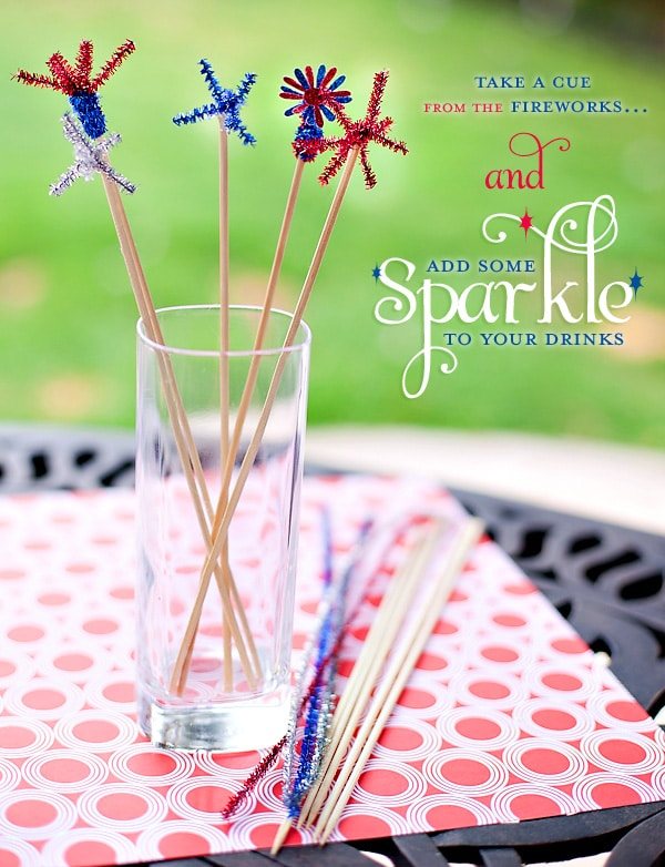 4th of july party ideas sparklers