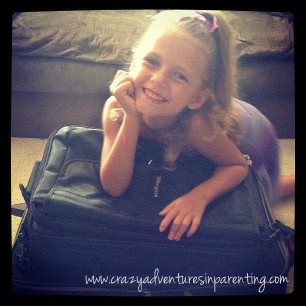 child traveler