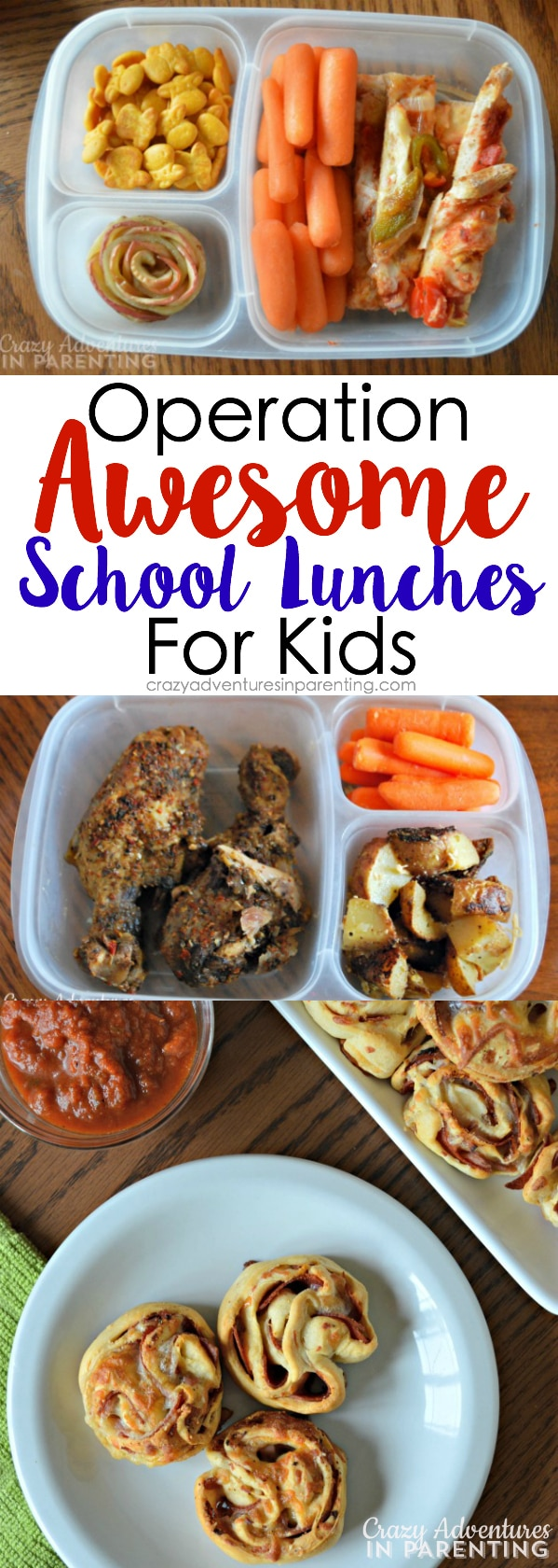 Operation Awesome School Lunch for Kids