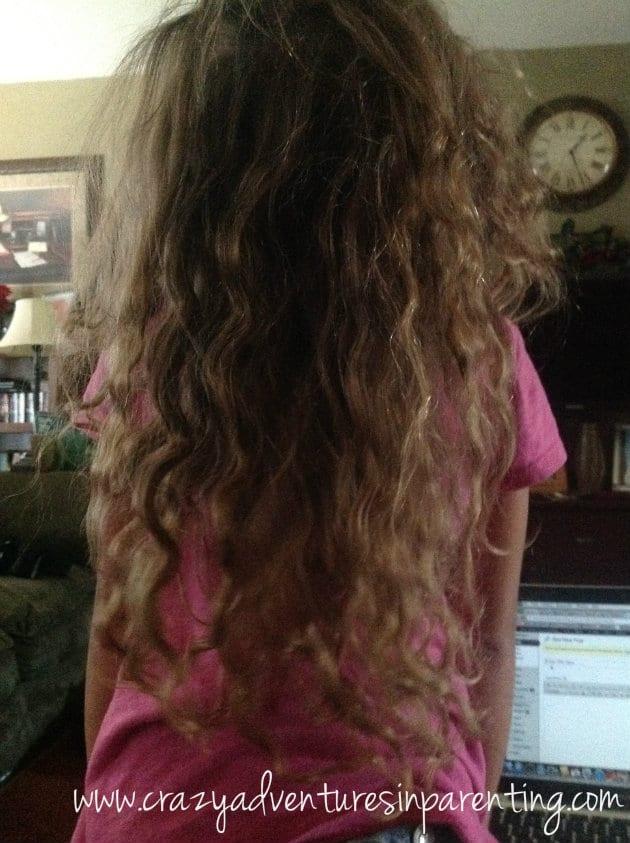 after braid curls