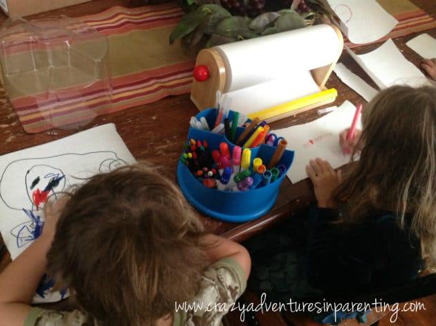 on a roll art set for kids
