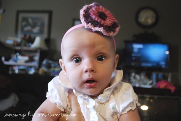 baby v hairbow