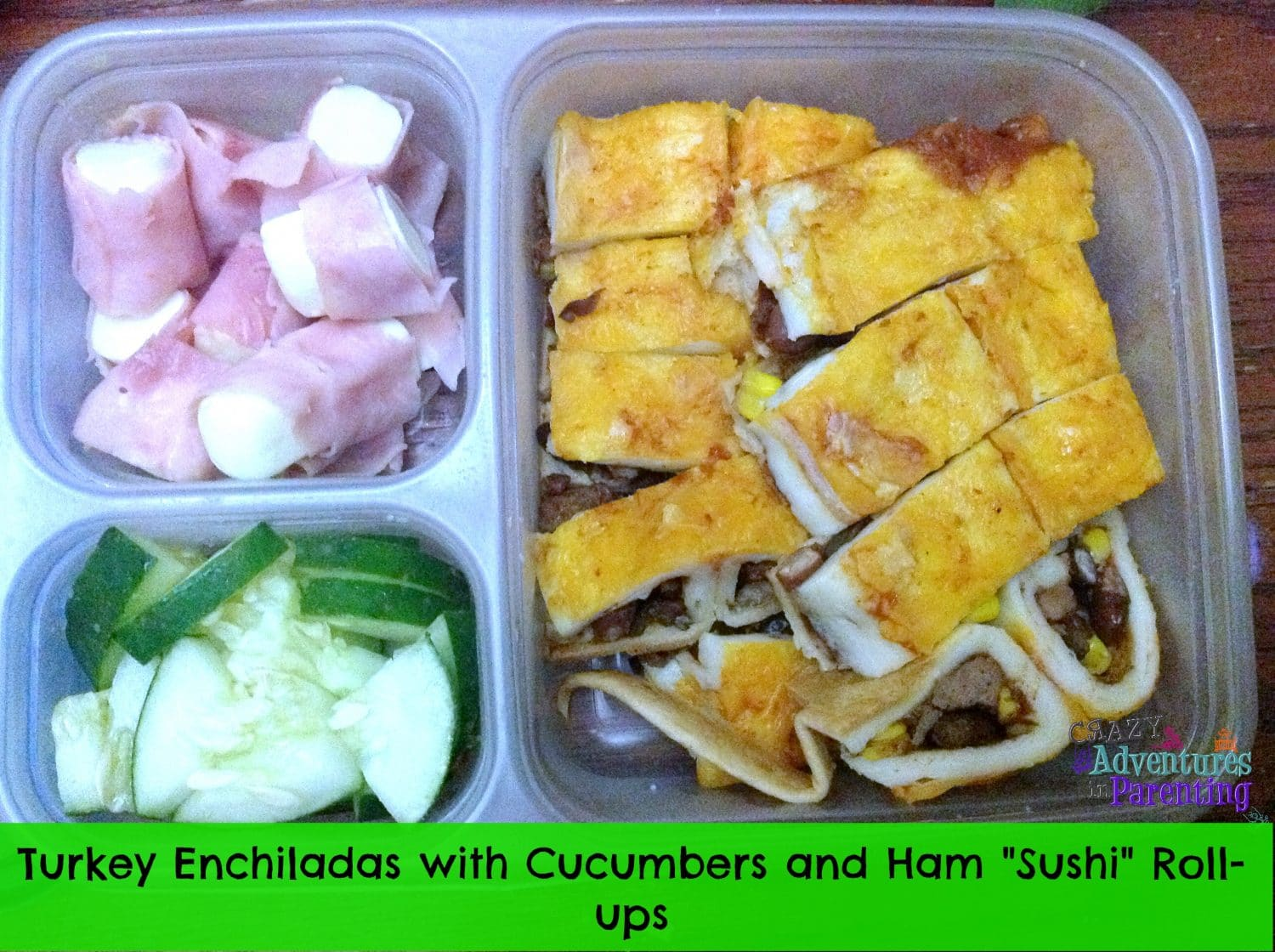 enchiladas school lunch