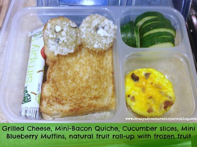 Grilled Cheese Sandwich School Lunch