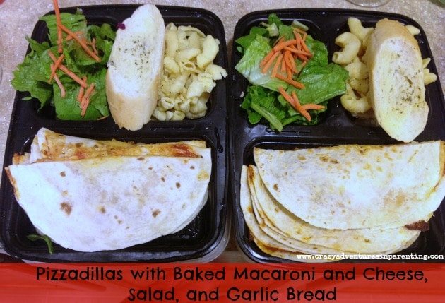 Pizzadillas School Lunch