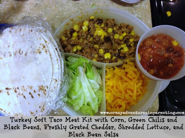 DIY Taco Kit School Lunch