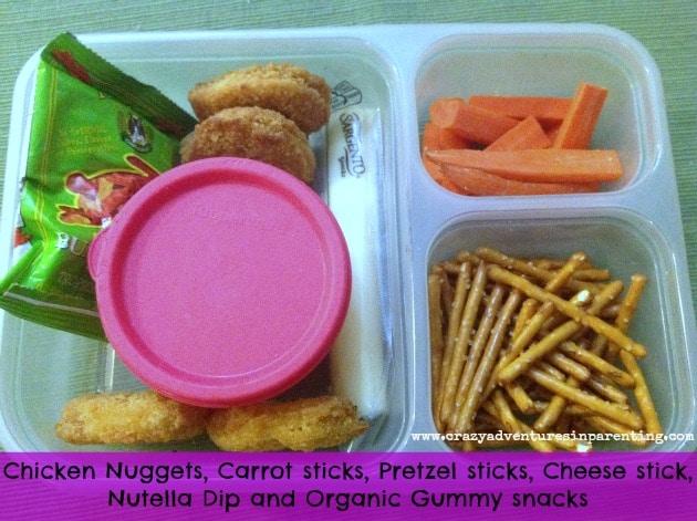 Chicken Nuggets School Lunch