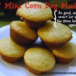 diy mini corndog muffins recipes