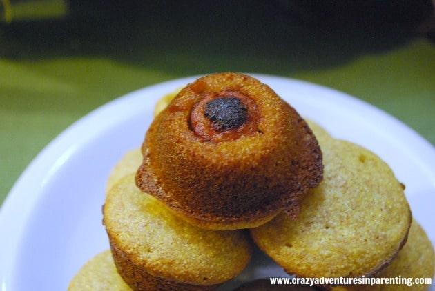 diy mini corndog muffins