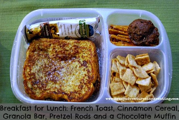 French Toast Breakfast School Lunch
