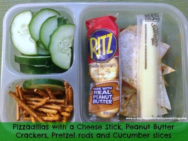 Pizzadillas School Lunch