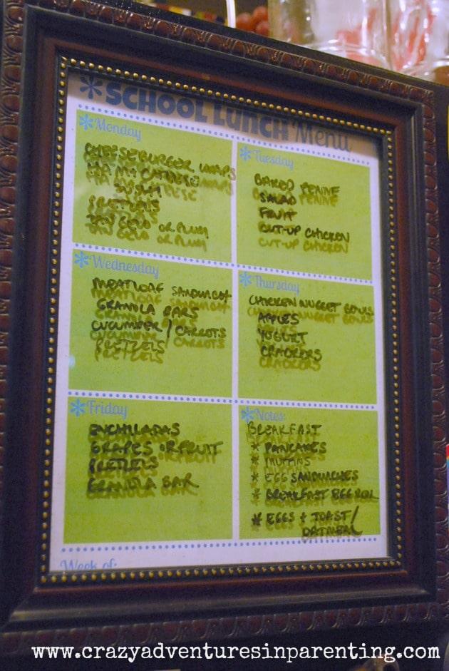 school lunch menu 9/17