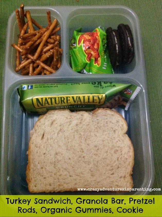 turkey sandwich school lunch