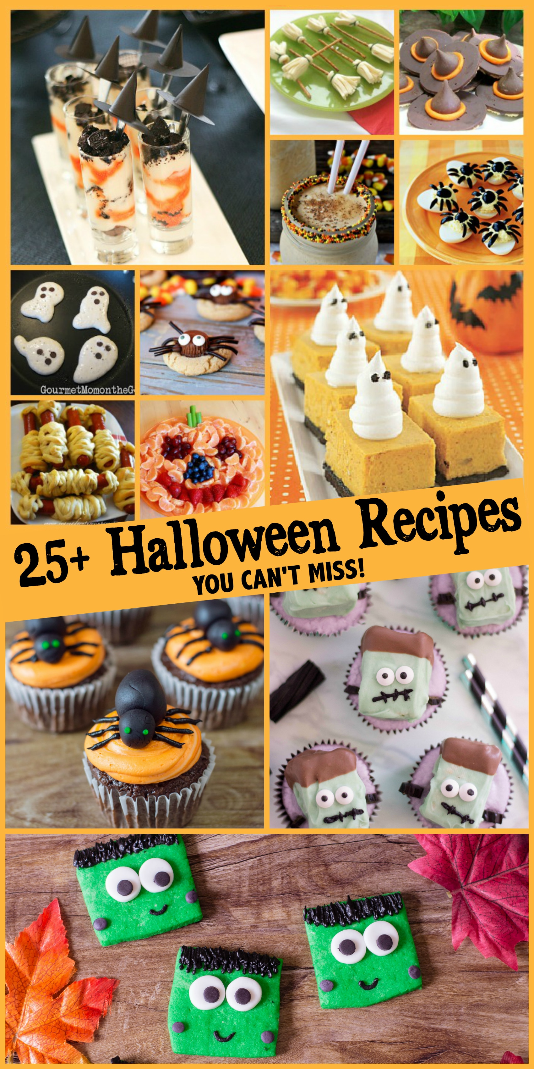 25+ Halloween Recipes You Can't Miss