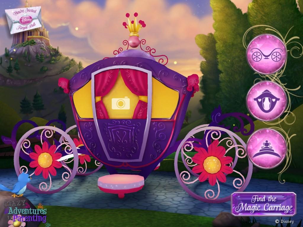 disney royal ball app