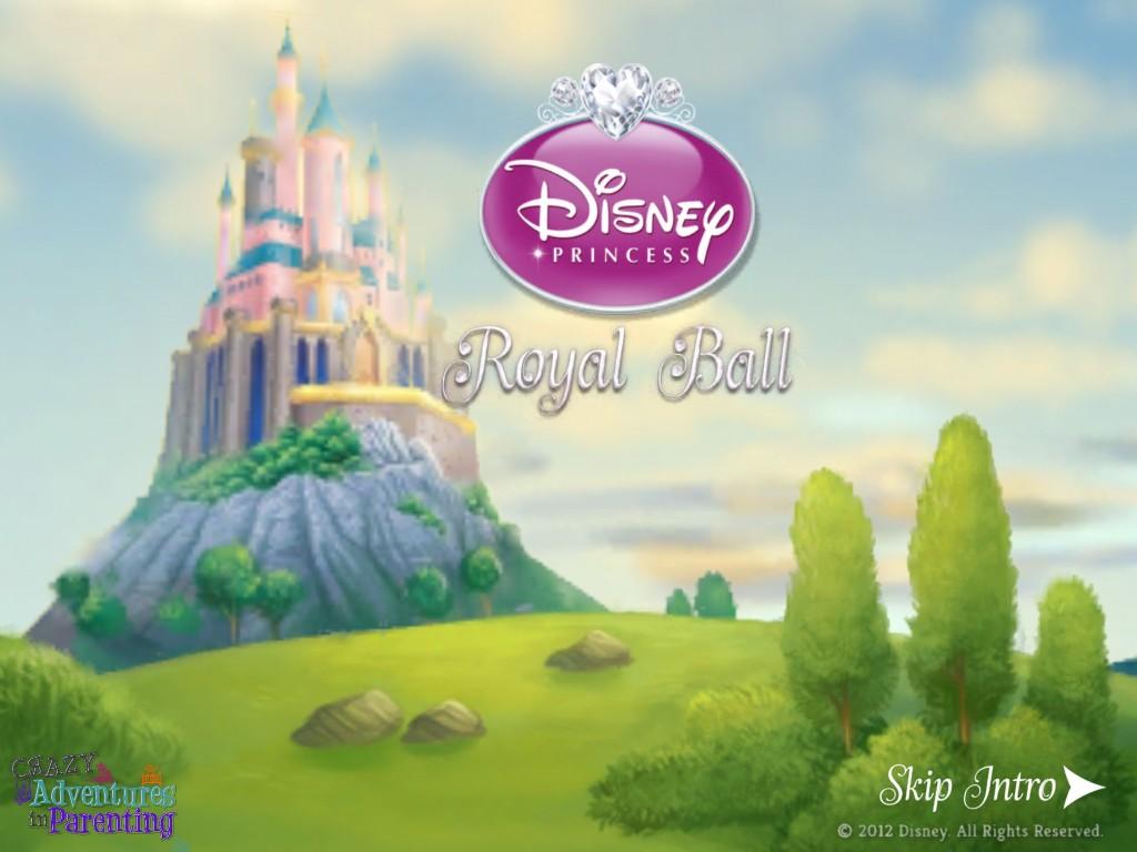 cinderella royal ball app