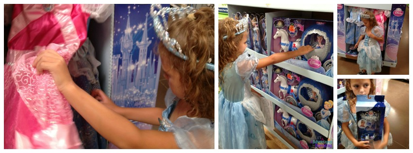cinderella toys and costumes