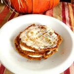 "Pumpkin ""Carrot Cake"" Oatmeal Pancakes with Protein"